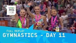 Rythmic Gymnastic - Final session Day 11 | Full Replay | Nanjing 2014 Youth Olympic Games
