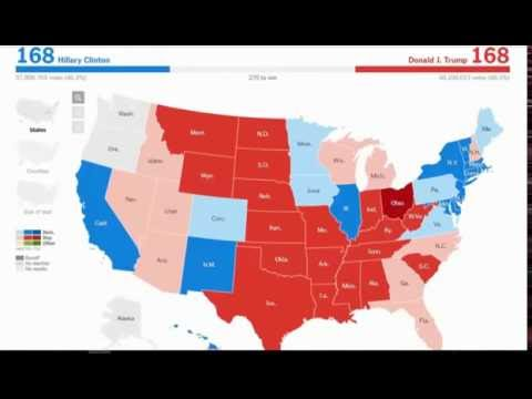 "Land Of The ""Free"" - A Music Time Lapse Of US Election 2016"