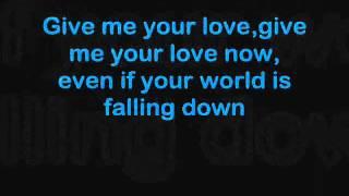 Jedward - Distortion (Lyrics)