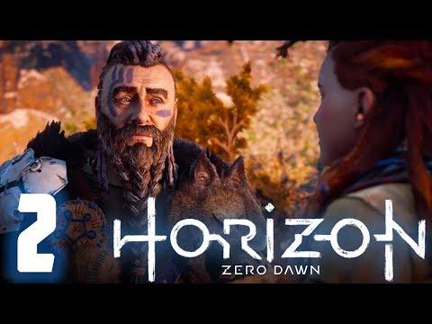 SENTIENT EYEBROWS   Horizon Zero Dawn Gameplay Let's Play #2 [TWITCH VOD] thumbnail