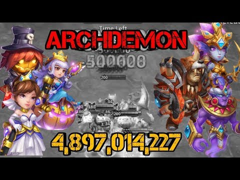 Archdemon | Day 3 | 4.8b | F2P Heroes | Castle Clash