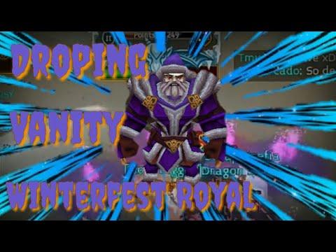 Arcane Legends - Drop Vanity Winterfest Royal