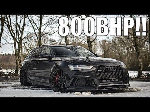800BHP Audi RS6 TEST DRIVE!!