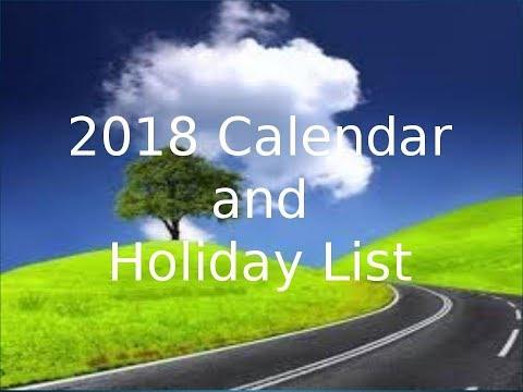 2018 Calendar. Holiday List 2018. India. 2018 Festival Date. Diwali date. Rathayatra Date. Durgapuja