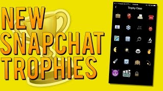 How to Unlock 7 New Snapchat Trophies! - Snapchat Achievement List (December 2015)