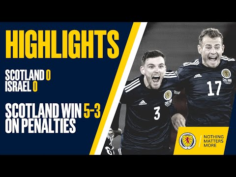 HIGHLIGHTS | Scotland 0-0 Israel | Scotland Win 5-3 On Penalties | UEFA EURO 2020 Play-Off Semi