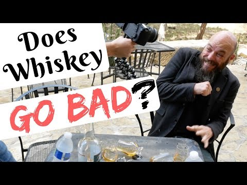 How Long Does Whiskey Last? (once opened)