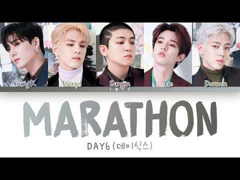 DAY6 (데이식스) - Marathon (마라톤) (Han Rom Eng) Color Coded Lyrics/한국어 가사