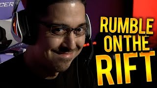 RUMBLE ON THE RIFT FROM MY POV! | UDYR TOP VS WINGSOFDEATH - Trick2g