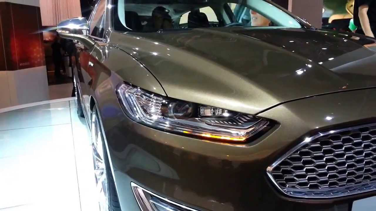 Ford Mondeo 2014 Led Headlamp Youtube