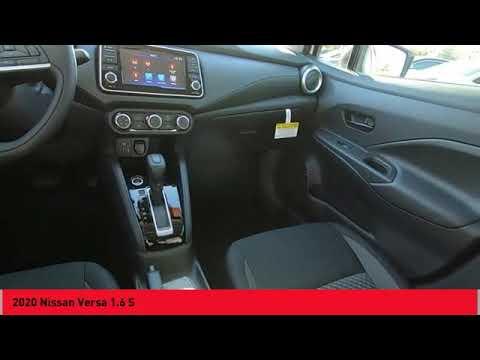 2020 Nissan Versa Asheville Nc Ll827009