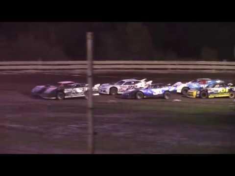 Hummingbird Speedway (8-24-19): Cypress Clock and Gift Shop Street Stock Heat Race #1