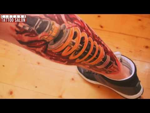 03 - Тату Биомеханика - значение татуировки