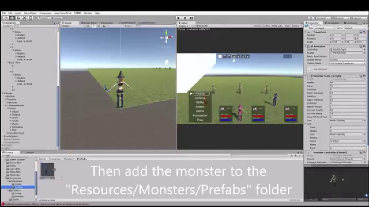 Unity Asset: Classic Turn-Based Battle System (WIP)
