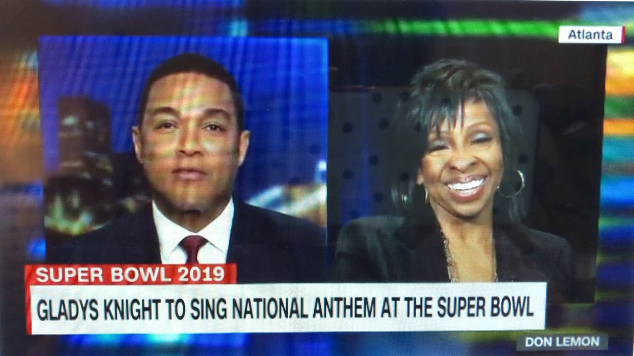 Twitter absolutely loved Gladys Knight's Super Bowl national anthem performance