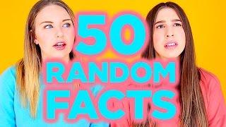 50 RANDOM FACTS SUR NOUS | 2e peau