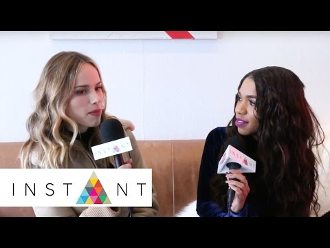 Teala Dunn Talks With Halston Sage About 'Before I Fall' | Sundance Film Festival | INSTANT