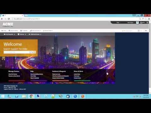 Cherwell's New Service Catalog Templates - YouTube