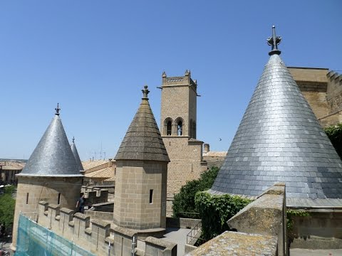 Olite Castle, Navarra-SPAIN 2015