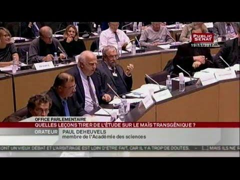 Table ronde sur les OGM - SEANCE (03/12/2012)