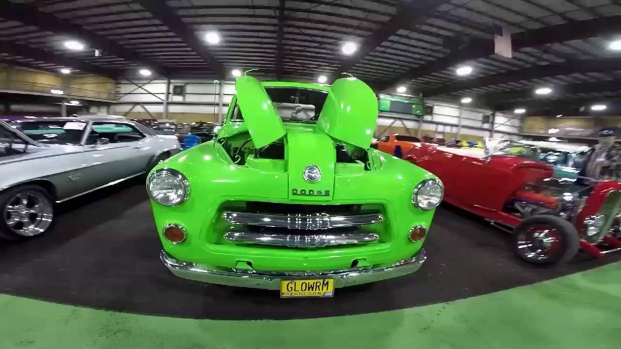 Cool 54 dodge truck and a 72 340 duster - YouTube