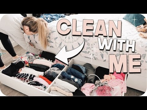 Clean with Me 2018!