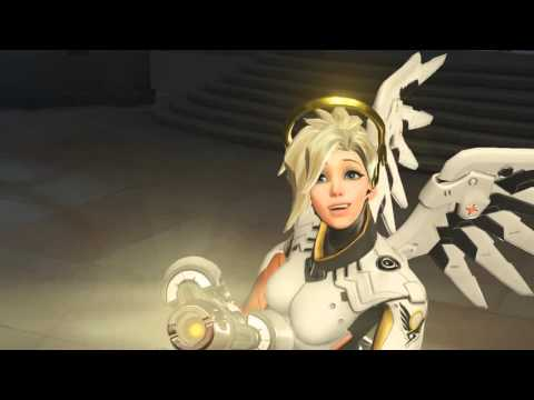 Overwatch All Mercy Highlight Intros