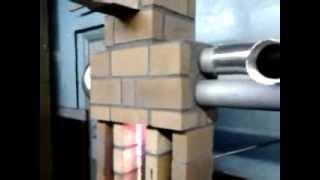 Новая печка на отработке,ни грамма сварки.Use of waste oil in the oven.(Решение сделать печку из кирпича было продиктовано трудоемкостью изготовления печки из металла,и длительн..., 2013-12-27T15:38:16.000Z)