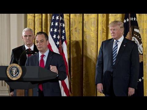 Donald Trump Swears in Senior White House Staff