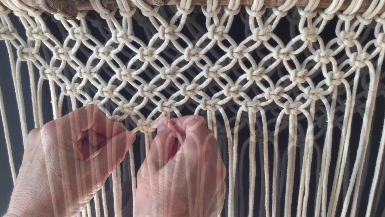 how to do macrame how to do macrame knots forming a v with square knots 9495