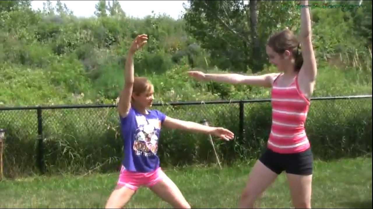 Double Cartwheel Tutorial - 2 Person Cartwheels