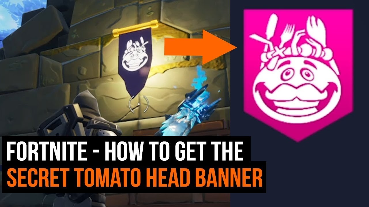 Fortnite How To Get The Secret Tomato Head Banner Youtube