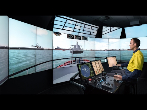 See inside HR Wallingford's new Australia Ship Simulation Centre in Fremantle