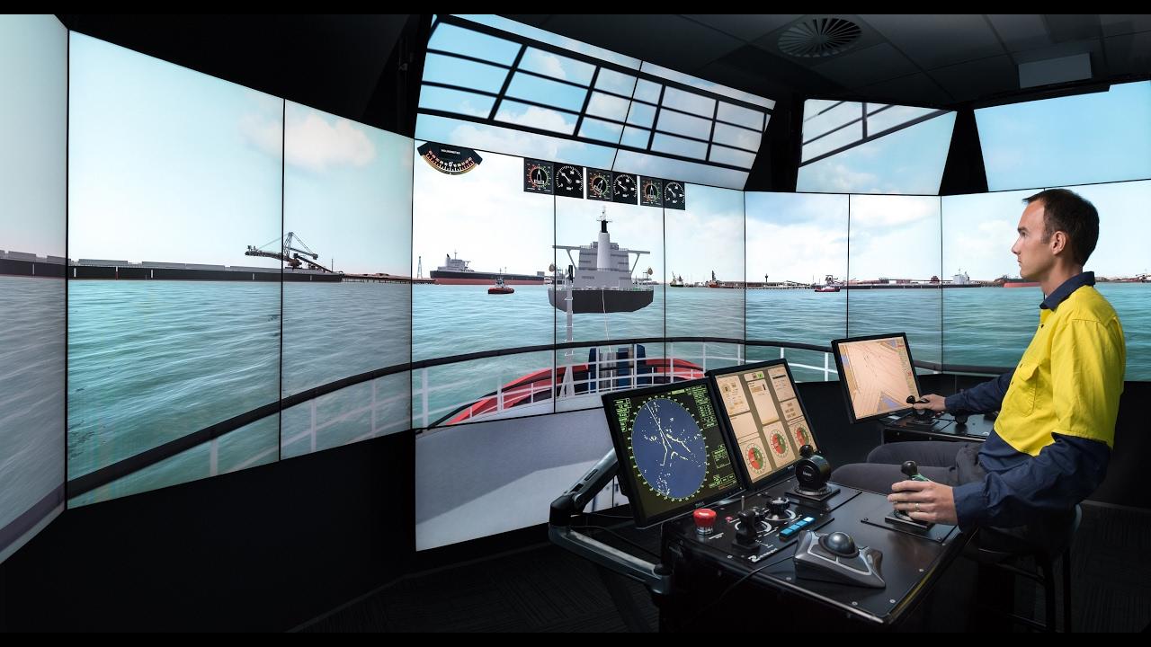See inside HR Wallingford's new Australia Ship Simulation Centre in  Fremantle