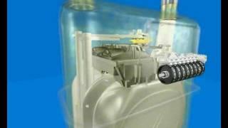 Устройство бытового счетчика газа(Бытовой счетчик газа. Видео рассказывающее из каких частей состоит бытовой счетчик газа., 2011-09-04T13:24:05.000Z)