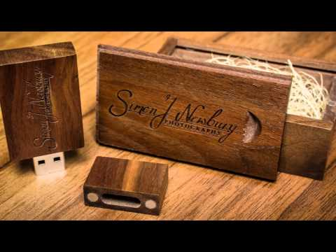 Wooden USB Drives by Simon J. Newbury Photography