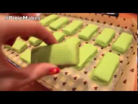 Pixie Makes: DIY Green Tea Kit Kat