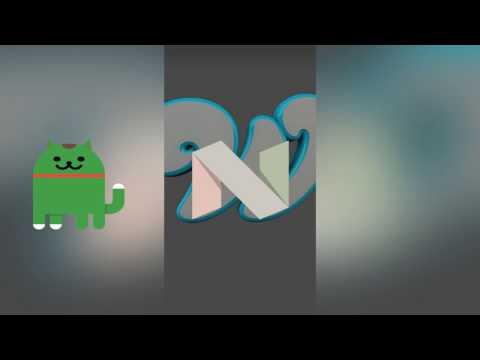 Android 7.♥ Nougat Easter Egg | German