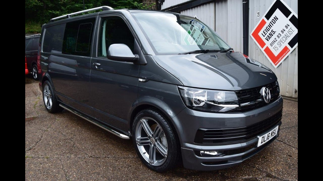 vw transporter t6 t32 lwb 180 kombi highline sportline pk youtube. Black Bedroom Furniture Sets. Home Design Ideas