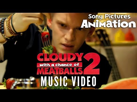 Cloudy With A Chance Of Meatballs 2  Cody Simpson  La Da Dee Music Video