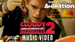 Cloudy With A Chance Of Meatballs 2 - Cody Simpson - La Da Dee Music Video