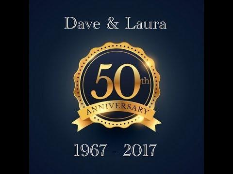 Dave Amp Lauras 50th Wedding Anniversary