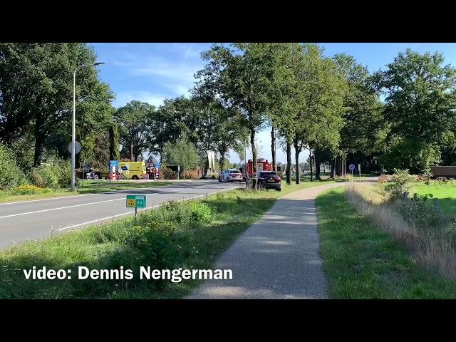 Traumahelikopter ingezet bij ernstig ongeval in Fleringen