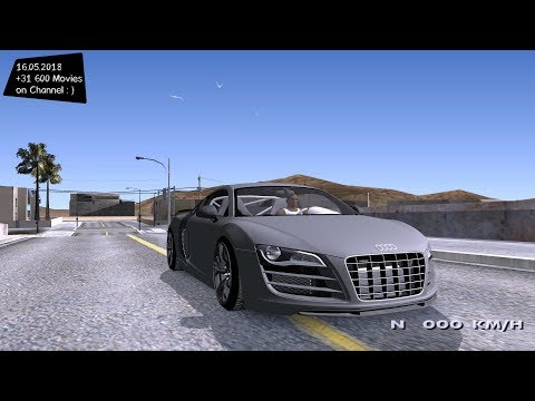 2012 Audi R8 GT Sport Test Drive GTA SA