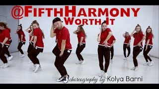 @FifthHarmony - Worth It ft. Kid Ink | @KolyaBarnin choreography