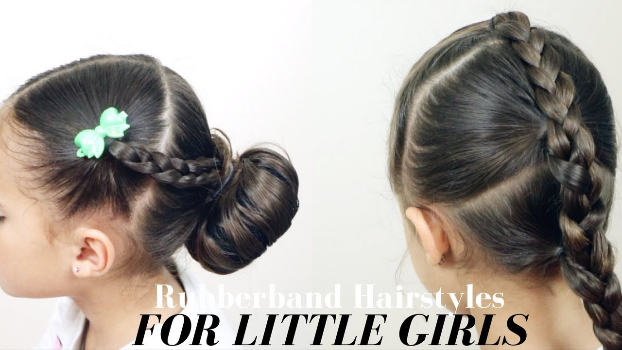 Easy Rubber Band Hairstyles For Little Girls Mixed Kids Hair