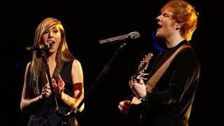 The Voice Season 6 (USA) : Christina Grimmie And Ed Sheeran Perform 'All Of  The Stars' in Finals