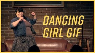 Clip - Dancing Girl GIF