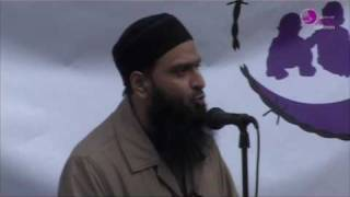 JFAC London Solidarity Rally - Shakeel Begg - Aafia Siddiqui Day March 28th 2010