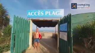 Camping avec accès direct à la plage de Marseillan